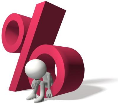 Hohe Zinsen bei Krediten für Arbeitslose