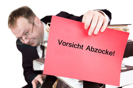 Vorsicht Kredit-Abzocke